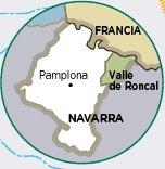 Mapa Roncal